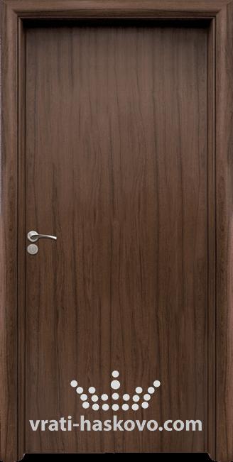 Интериорна HDF врата, модел 030 Орех