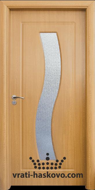 Интериорна HDF врата, модел 066 Светъл дъб