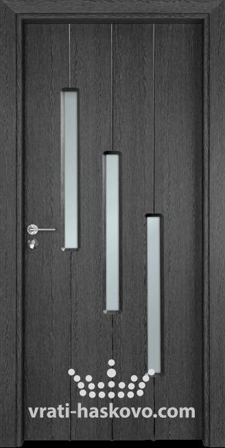 Интериорна врата Гама 206, цвят Сив кестен
