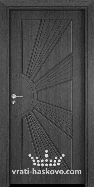 Интериорна врата Гама 204p, цвят Сив кестен