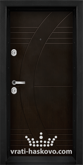 Блиндирана входна врата модел Т 909