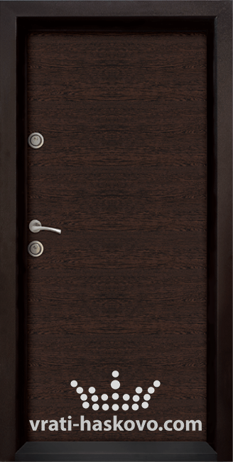 Блиндирана входна врата модел Ale Door 403 Wenge